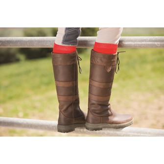 Horseware Waterproof Long Leather Country Boots - Wide