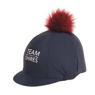 Team Shires Hat Cover with Pom Pom