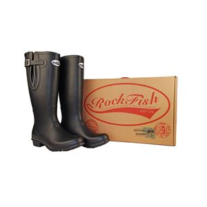 Rockfish Men's Classic Adjustable Calf Tall Matt Wellington