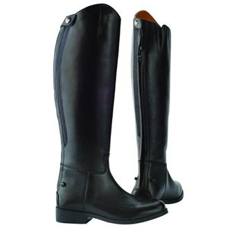 Saxon Equileather Plain Tall Boots