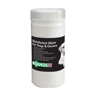 Aqueos Canine Disinfectant Wipes 200 wipes
