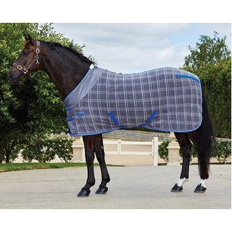 Weatherbeeta Polar Fleece Cooler Standard Neck Rug Print/Plaid Design