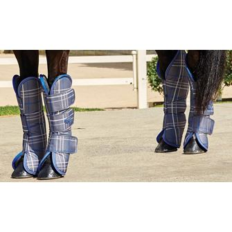 Weatherbeeta Wide Tab Long Travel Boots (Pony)