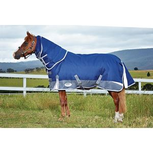 Weatherbeeta Freestyle 1200d Detach a Neck Heavy Turnout Rug PONY