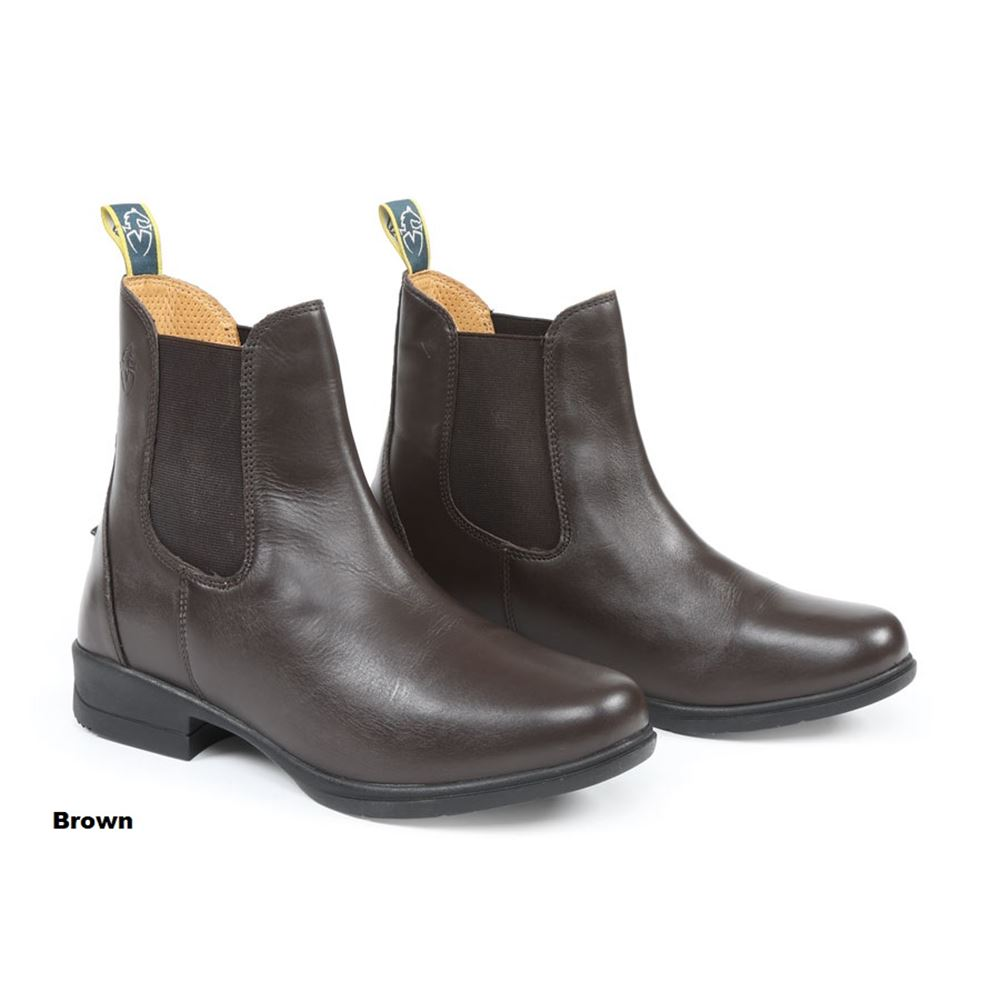 Shires Adults Moretta Lucilla Leather Jodhpur Boots