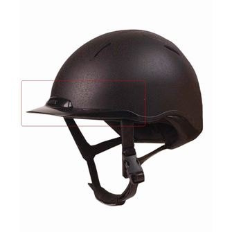 Dublin Onyx Helmet Replacement Peak