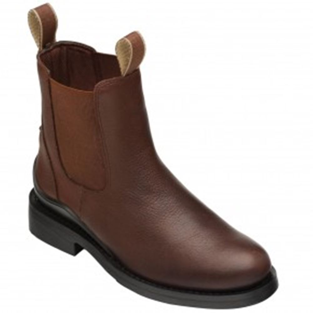 Harry Hall Oak Jodhpur Boots