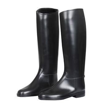 Red Horse Ladies PVC Long Riding Boots