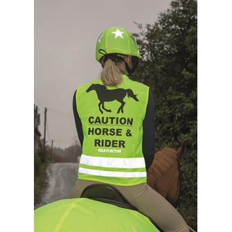 Shires Equi-Flector Adults Safety Riding Vest