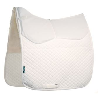 Griffin Nuumed Original HiWither Half Wool Dressage Shimmy Saddlepad