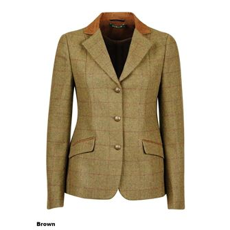 Dublin Childs Albany Tweed Suede Collar Tailored Jacket
