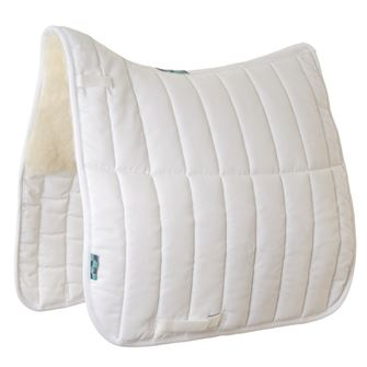 Griffin Nuumed Dressage HiWither Half Wool Saddlepad 9oz