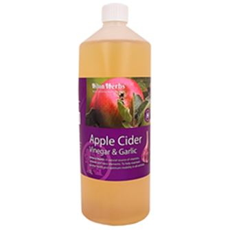 Hilton Herbs Apple Cider Vinegar & Garlic 1 Ltr