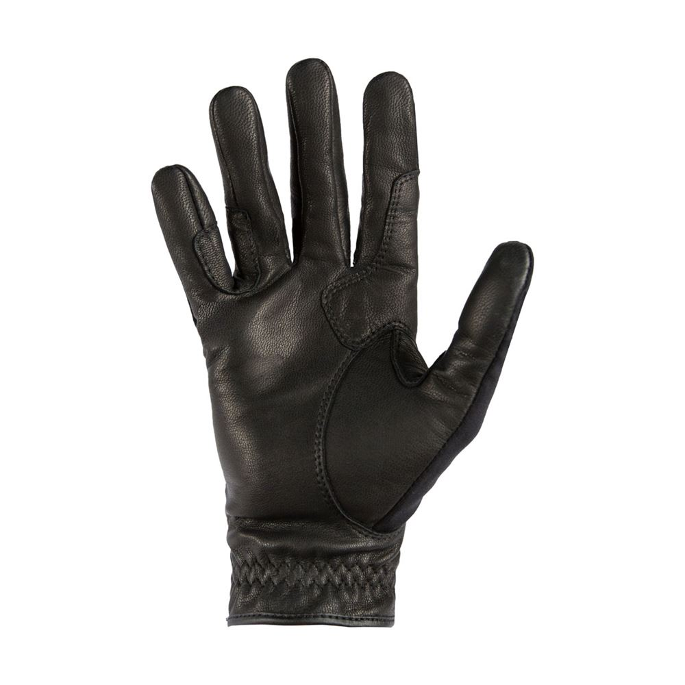 Noble Outfitters Show Ready Leather Riding Gloves with Rein Reinforcements