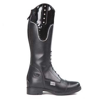 Tuffa Jubilee Children's Synthetic Show Jumping Long Boots