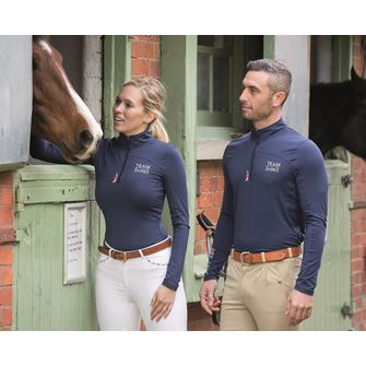 Team Shires Long Sleeve Base Layer Top