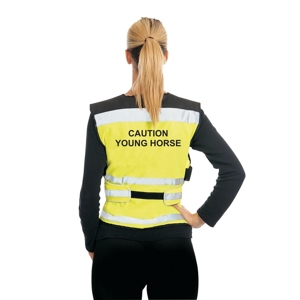 Equisafety Caution Young Horse Air Waistcoat