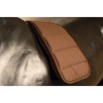 Griffin NuuMed Sheep's Wool Lined Roller-Surcingle Pad