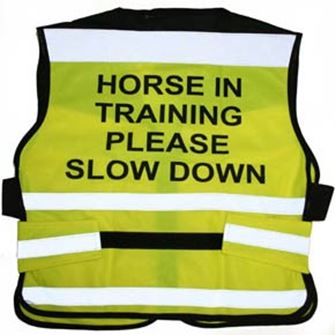 Equisafety Horse Training Air Road Safety Waistcoat