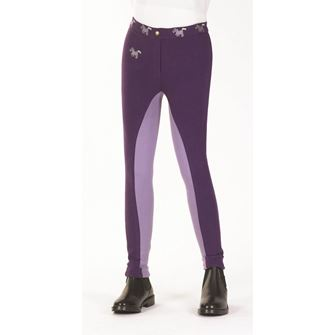 Pegasus Childrens Two Tone Pull On Jodhpurs