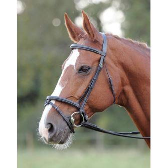 Shires Avignon Comfort Bridle with Detachable Flash