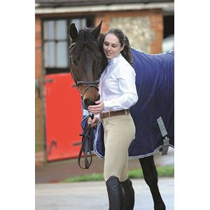 Dublin Supa Shape It Performance Euro Seat Clarino Knee Patch Breeches