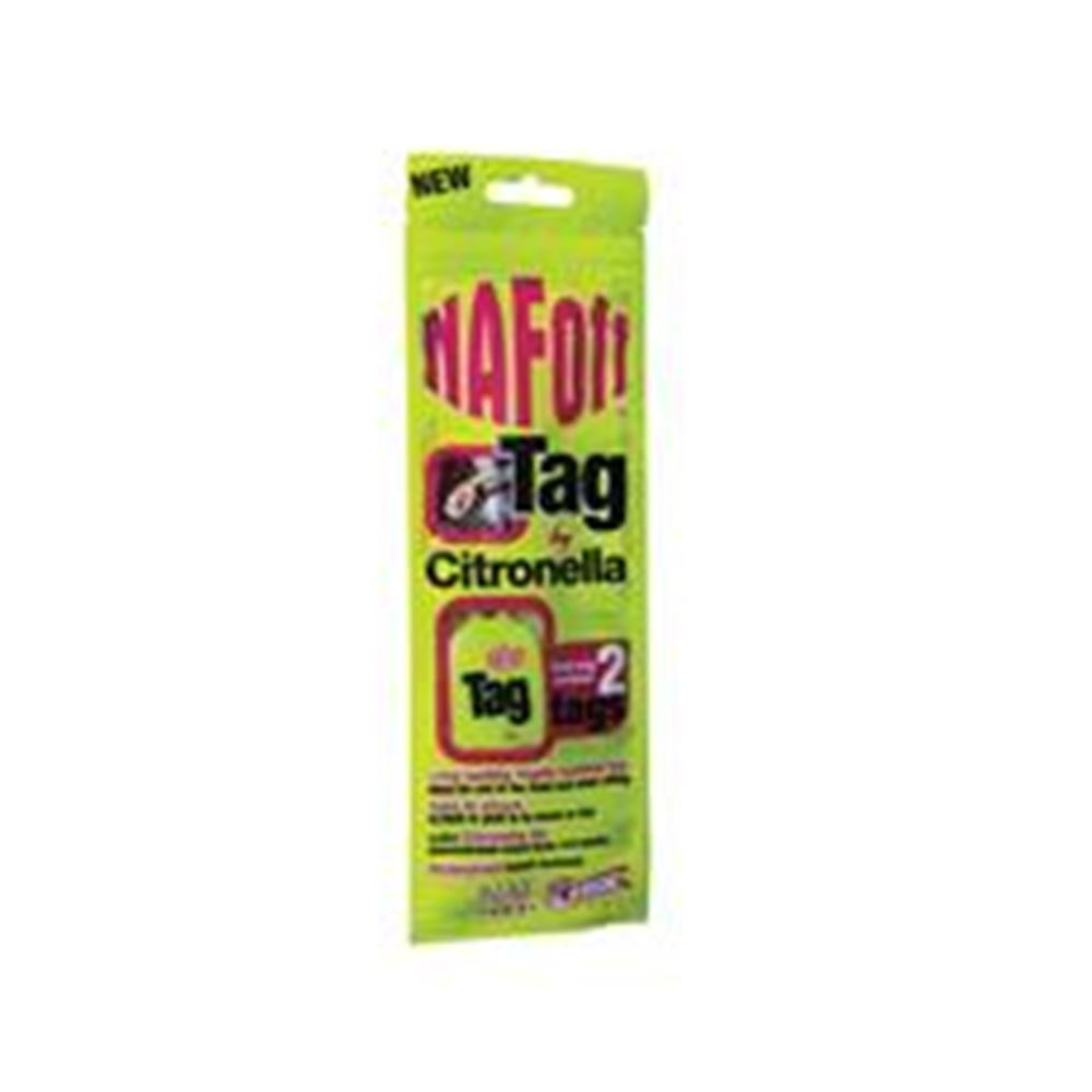 Naf Off Citronella Tag (twin pack)