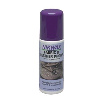 Nikwax Fabric & Leather Proof 125ml with Sponge