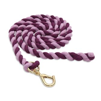 Shires Walsall Clip Two Tone Cotton Leadrope