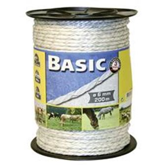 Basic Fencing Rope with Copper Wires 200 Metres