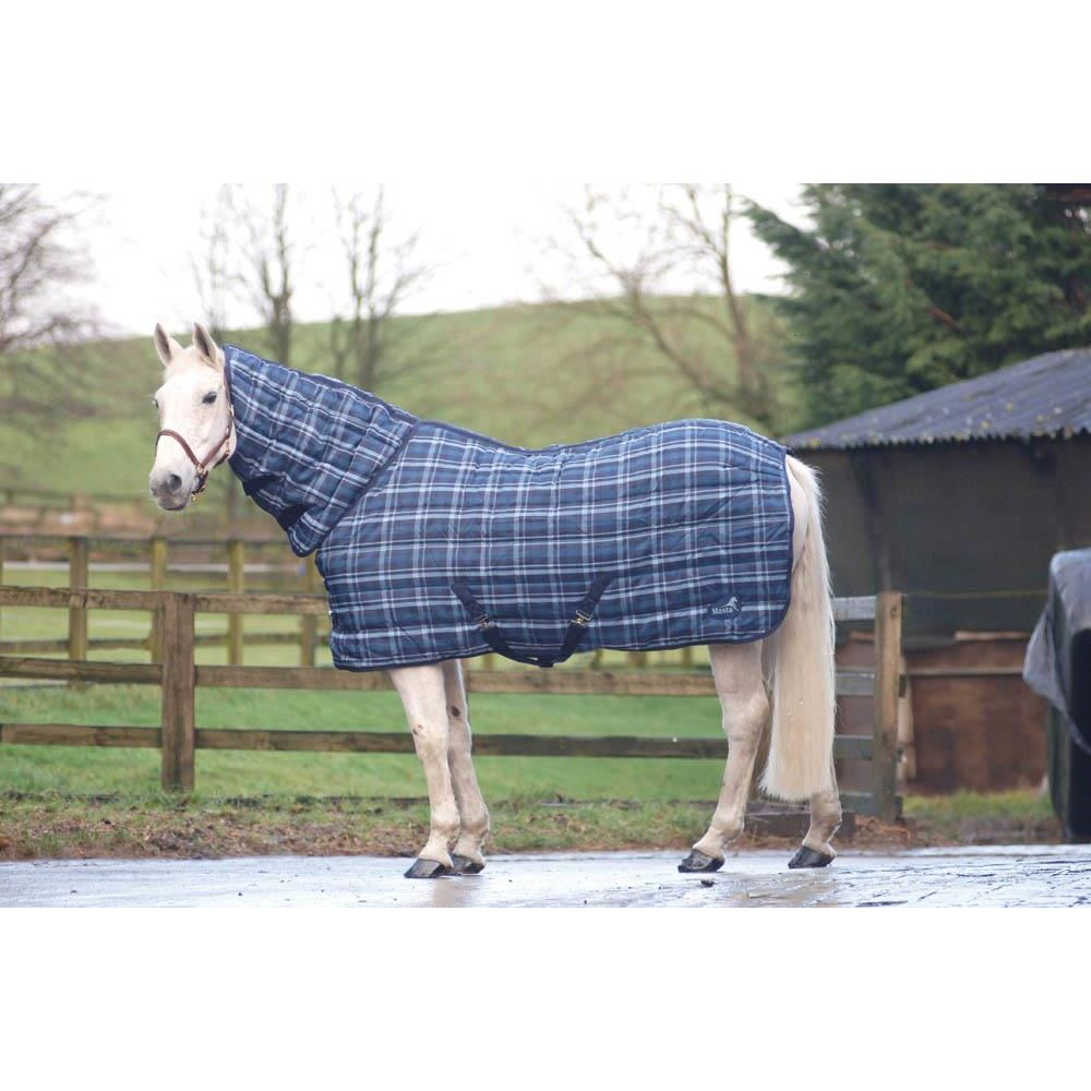 Masta PP Check Full Neck Stable Rug