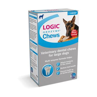 Logic Orozyme Chews 7 Chews - Large Dog