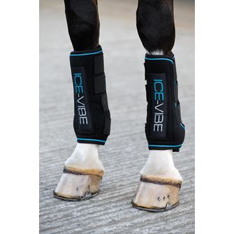 Horseware Ireland Ice Vibe Vibrating Ice Therapy Boots for Horses