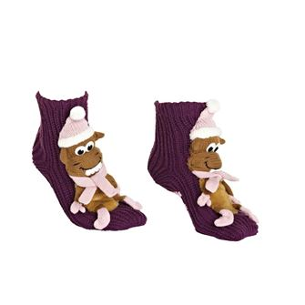 The Riding Sock Co. Childrens Horsey Slipper Socks