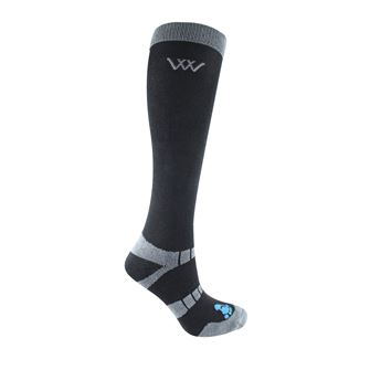 Woof Wear Bamboo Waffle Long Riding Sock