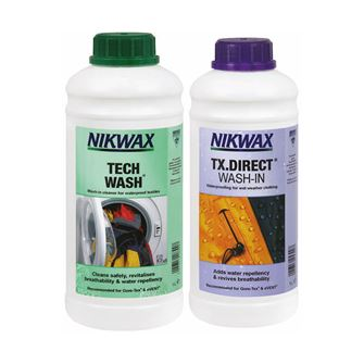 Nikwax Tech Wash & TX.Direct Wash-In 1 Litre