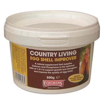 Equimins Country Living Eggshell Improver (500gm)