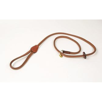 Shires Digby & Fox Rolled Leather Slip Lead