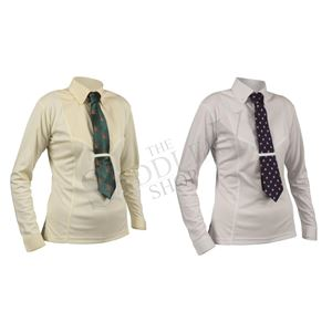 Shires Children's Long Sleeve Tie Shirt