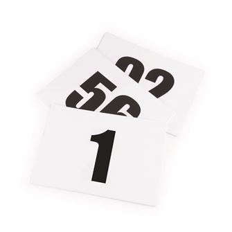 Shires Number Inserts (for use in a number bib)