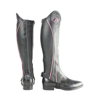 HyLAND Two Tone Leather Gaiters