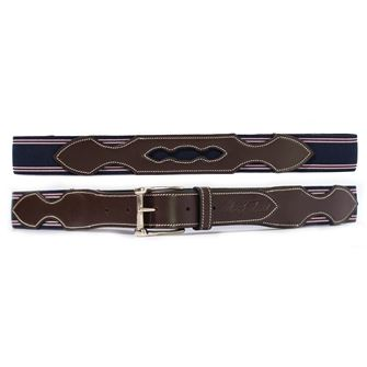Mark Todd Elasticated Leather Belt