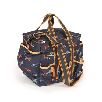 Shires Printed Grooming Kit Bag