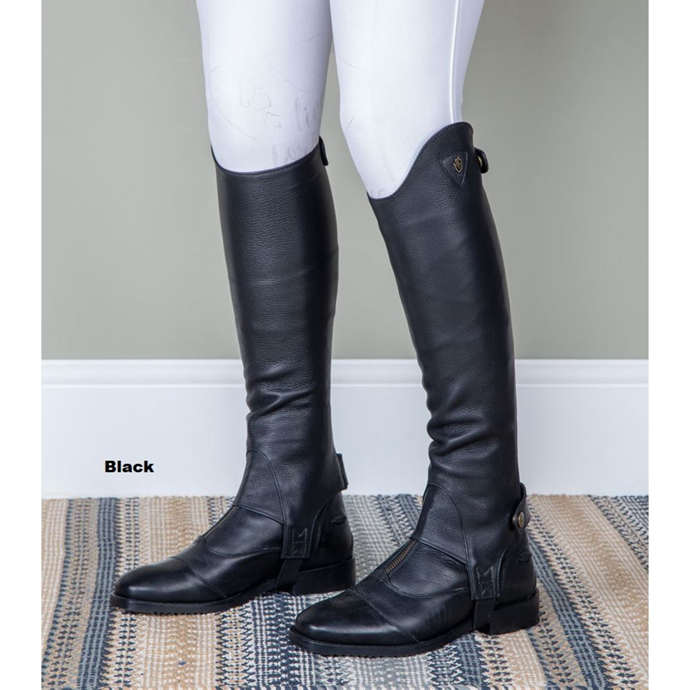 Shires Moretta Leather Gaiters - Adults
