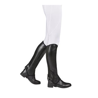 Saxon Syntovia Adults Equileather Half Chaps