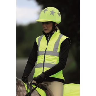 Shires Equi-Flector Reflective Riding Waistcoat