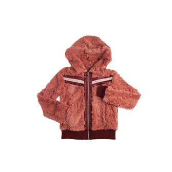 Horseware Super Lux Faux Fur Girls Hoodie