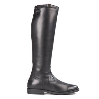 Tuffa Showtime Italian Leather Long Riding Boots Black